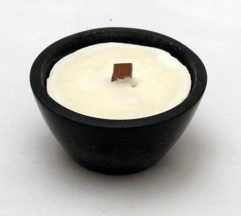 bRE Moroccan Sandalwood Candle in Soapstone Slant