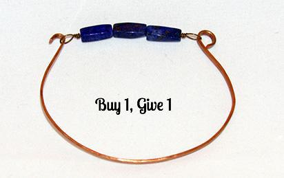 bRE Thin Blue Line Freedom Bracelet