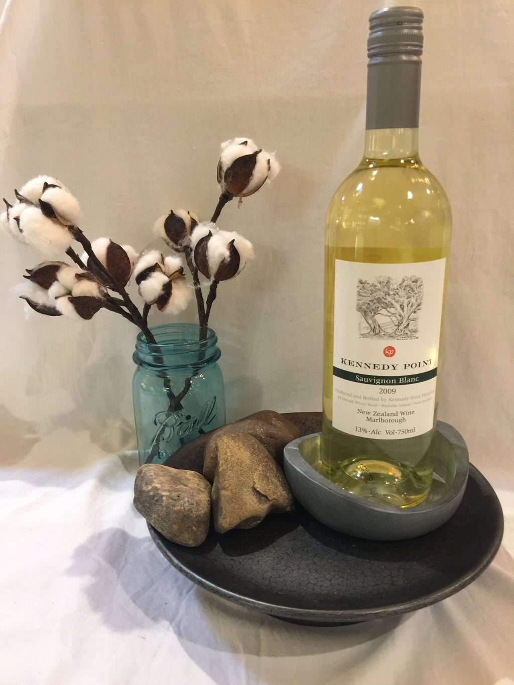 Soapstone Wine Coaster
