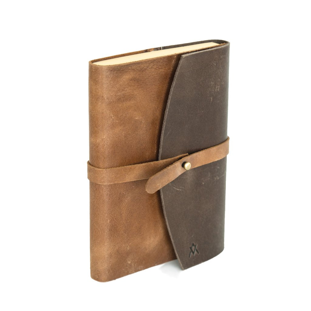Journal-Leather Single Wrap