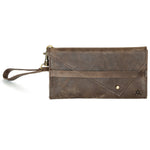 Leather-Wallet, Tri-fold