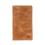 Leather-Wallet, Vertical