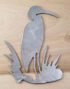 Plasma Cut Metal Heron, Hummingbird, Dove, Bomber Plane - Cat Fly Designs