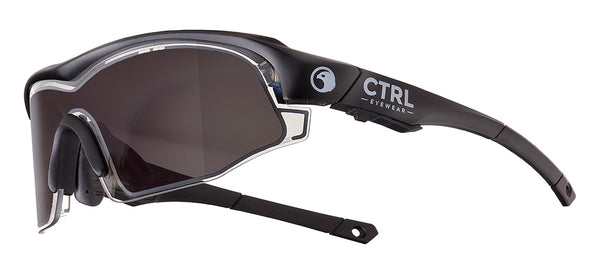 CTRL™ ONE Matte Black / Smoke Lens