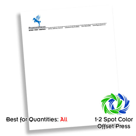 Two Color Midrange Letterhead