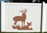 Naturescapes Deer Family Decorative Backyard Paint/Stain Mask/Stencil