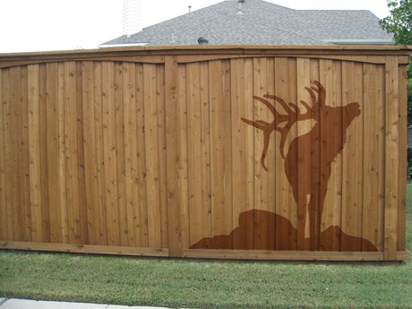 Naturescapes Elk Decorative Backyard Paint/Stain Mask/Stencil