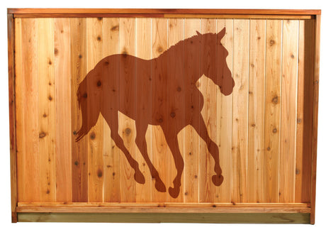 Naturescapes Horse2 Decorative Backyard Paint/Stain Mask/Stencil