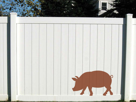 Naturescapes Pig Decorative Backyard Paint/Stain Mask/Stencil