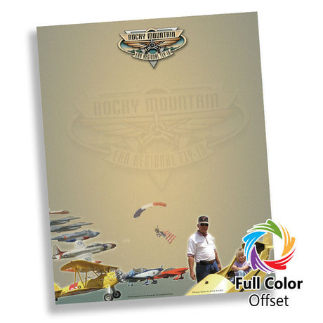 Full Color Premium Letterhead