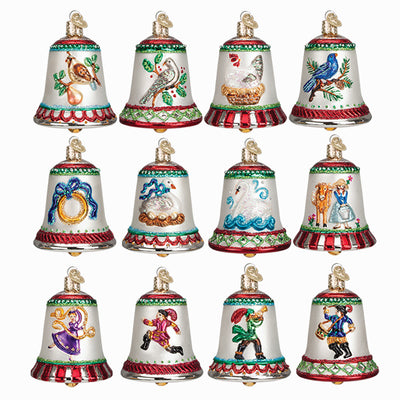 twelve days of christmas bells ornament collection 2017 special edition - 12 Days Of Christmas Decorations