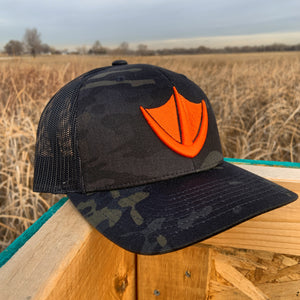 WF Trucker Hat - Multicam