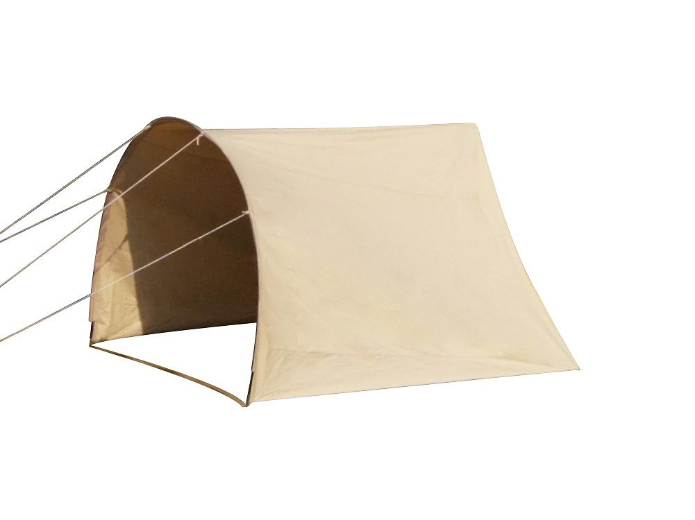 Dream House Waterproof Portable Cotton Canvas Arched Entrance Shelter for Camping Bell Tent