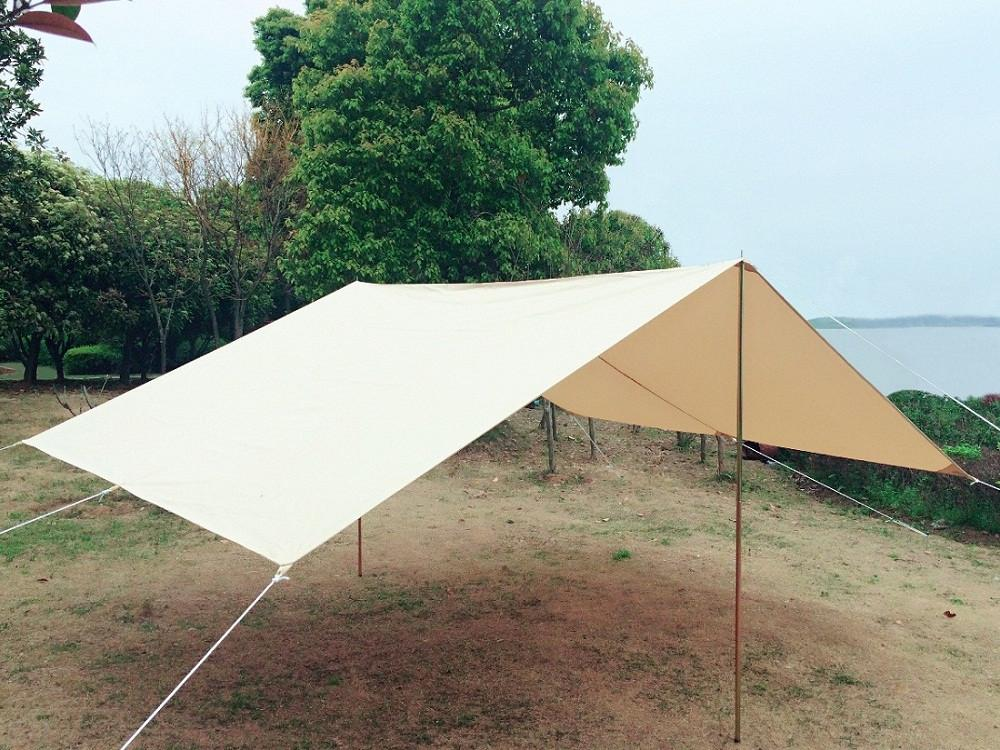 Dream House Waterproof Cotton Canvas Tent Awning The Vestibule for C&ing Tent Outdoor Shelter Tent & Dream House Waterproof Cotton Canvas Tent Awning The Vestibule for ...