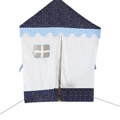Dream House Children Indoor Cotton Canvas Princess/Prince Reading Corner Tent Canopy