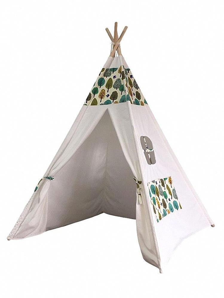 Dream House Fun Kids Indoor Play Indian Teepee Tent Preschool Hideaway and Hideout Wigwam Tent  sc 1 st  DreamHouse Tent : wig wam tent - memphite.com
