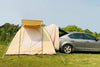 Outdoor Waterproof Canvas Car Rear Camping Tent