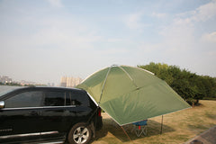Portable Large Camping Sun Shelter SUV Car Rear Trunk Awning Tent