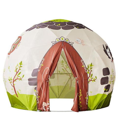 Indoor Cotton Canvas Dome Shape Magic Forest kids Play Tent