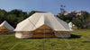Dream House Large Waterproof Multi-People Cotton Canvas Four-Seasons Emperor Bell Tent