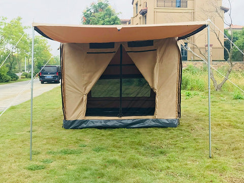 Heavy Duty Waterproof Quick Open Self-driving Family Camping Tent