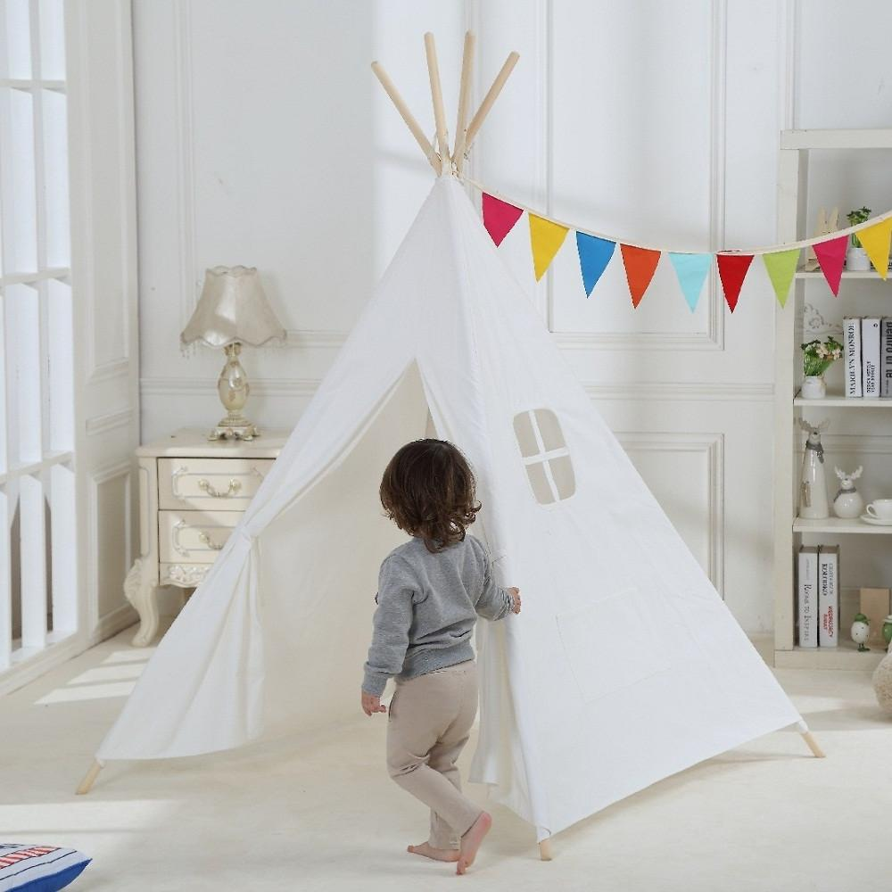 Dream House Cotton Canvas Indian Teepee Tent For Kids