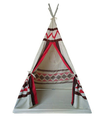 Dream House Portable Indian Playhouse Toy Teepee for Kids
