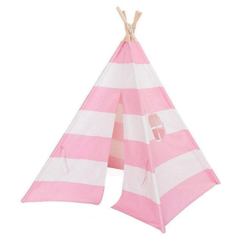 Dream House Classical Indoor Cotton Canvas Toy Indian Teepee Tent for Toddler