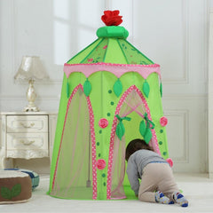 Dream House Portable Kids Hideaway Fairy Princess Castle Girl Play Tent