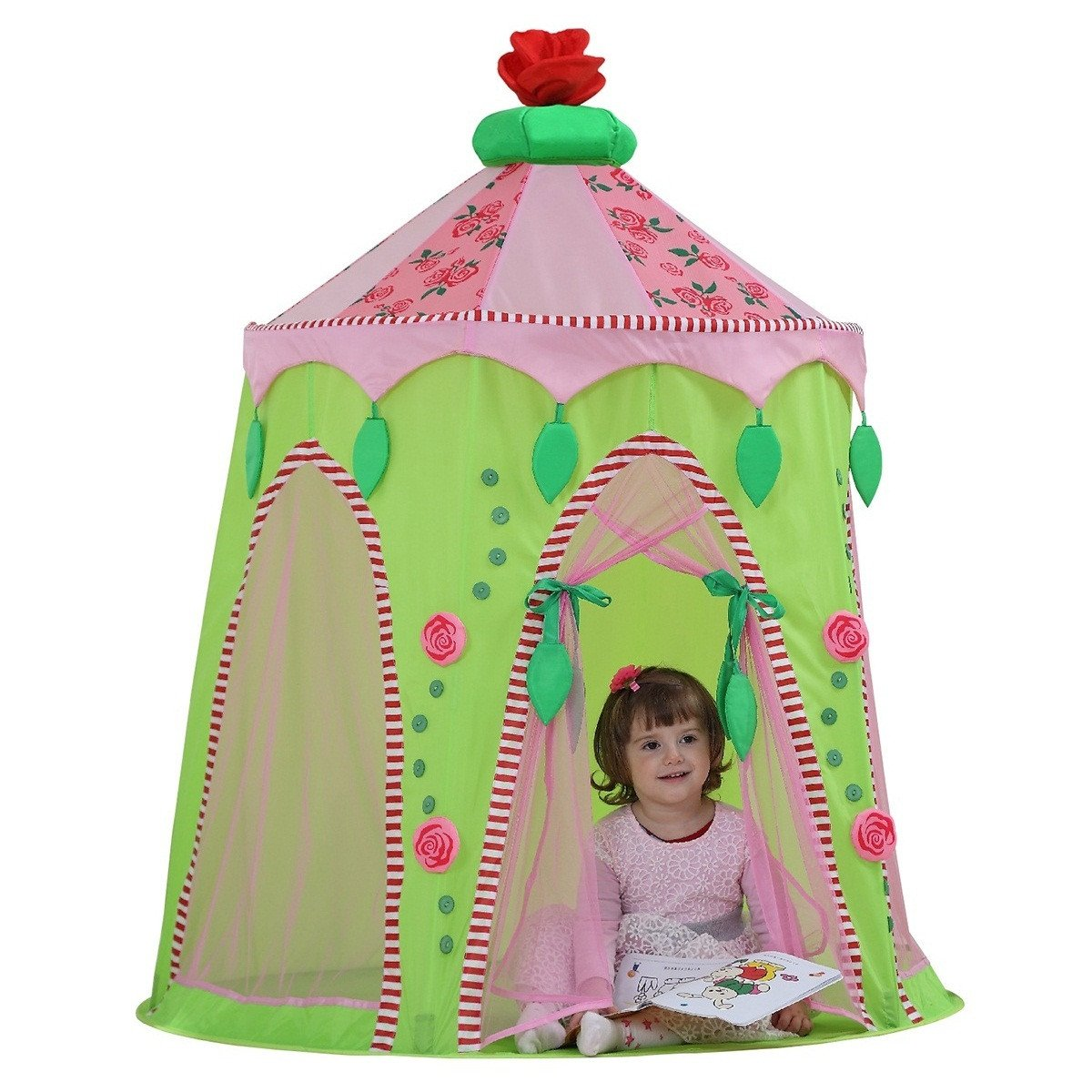 Dream House Foldable Indoor Children Play Princess Pop Up Castle Tent  sc 1 st  DreamHouse Tent & Dream House Foldable Indoor Children Play Princess Pop Up Castle ...