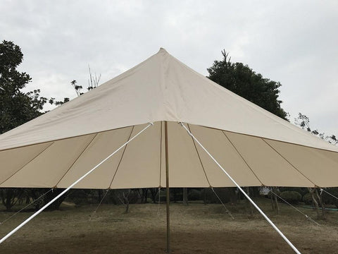 The Customized Durable Windproof and Waterproof Large Roof Tarp for Dream House Bell Tent