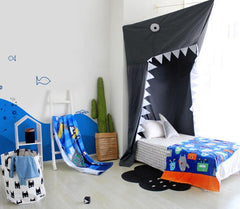 Fantastic Big Shark Canopy Bed Tent for Child's Room Decorative Play Tent