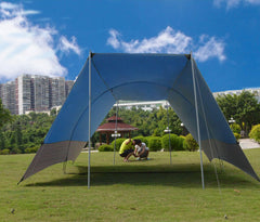 Ultra Large Outdoor Waterproof Canopy Gazebo Arched Sun Shelter Tent