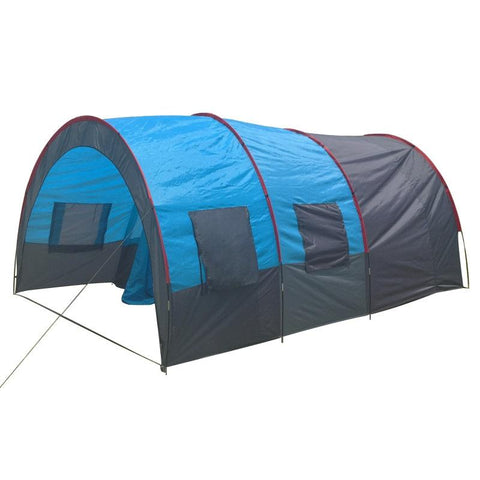 Dream House Outdoor Waterproof Tunnel Family Camping Tent for 5-6 Person
