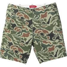 Supreme Military Short Olive Camo Size 30
