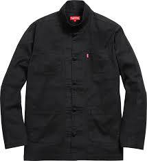 Supreme Kung Fu Jacket Black