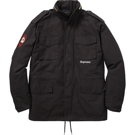 Supreme Slayer Eagle M-65 Jacket Black