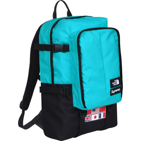 The Northface / Supreme Expedition Medium Day Backpack Teal