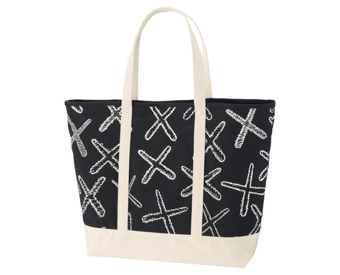 Kaws Tote Black X Large