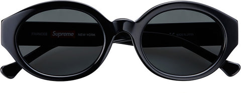 Supreme Frances Sunglasses Black