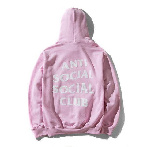 Anti Social Social Club Know you better hoodie Pink