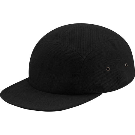 Supreme Lacoste Pique Camp Cap Black – CURATEDSUPPLY.COM b8d0afc060a