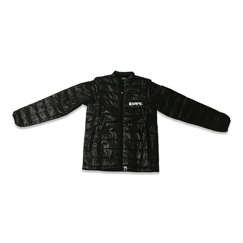 Bape Puffy Packable Jacket Black