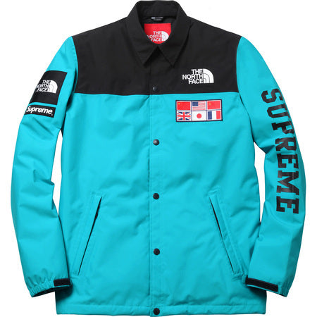 The Northface / Supreme Expedition Coaches Jacket Teal