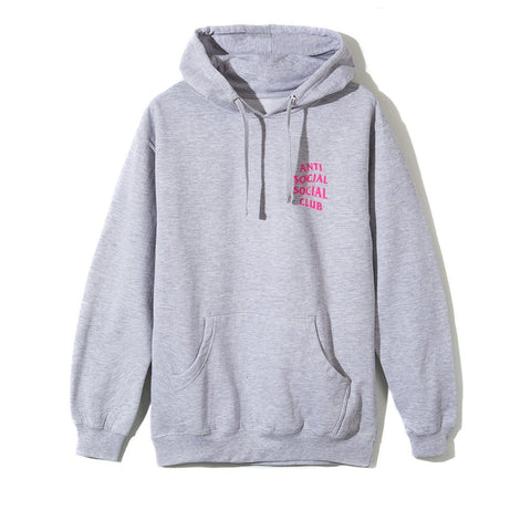Anti Social Social Club 2 WAYZ HOODIE Heather Grey