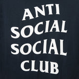 Anti Social Social Club OMW NAVY SHIRT