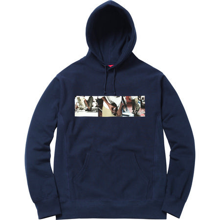 Supreme Kids 40 oz Hooded Sweatshirt Navy
