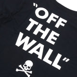 "Mastermind Japan x Vans ""Off The Wall"" Box Logo Black Tee"