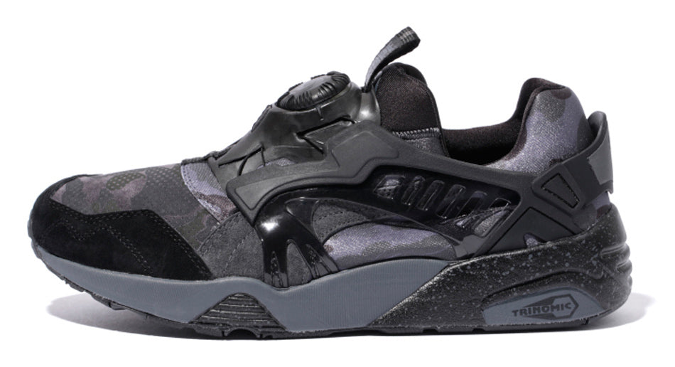 2be092b494155 Bape X Puma Disc Blaze Black Size 9 – CURATEDSUPPLY.COM
