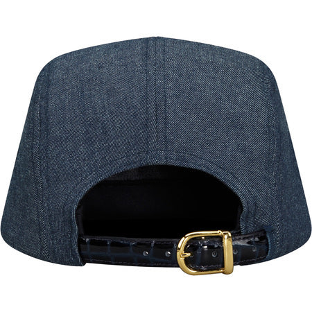 2dec5b1f674 Supreme Croc Strap Camp Cap Indigo – CURATEDSUPPLY.COM